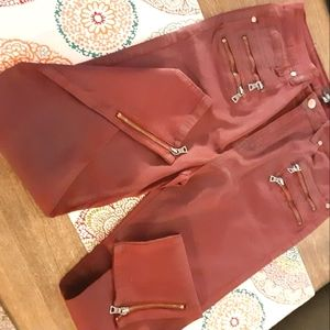 8th of LA Red Skinny Jeans